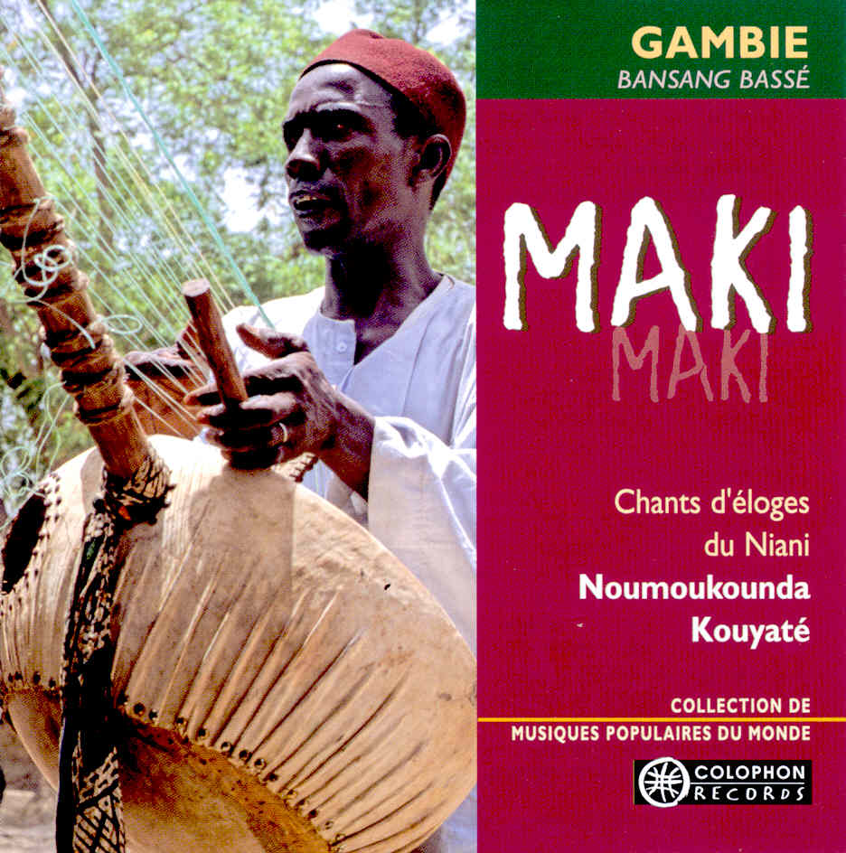 CD gambie cover